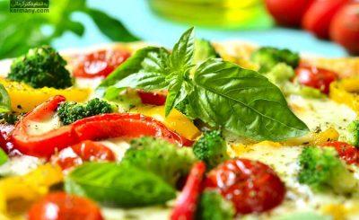 پیتزا-فلفل-دلمه-ای