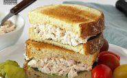 آشپزی رژیمی - ساندویچ مرغ