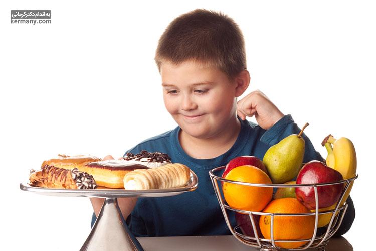 پرخوری در کودکان