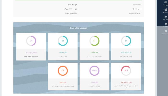 پیش گزارش رژیم آنلاین