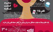 قلب خانم ها بر اساس آمار