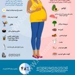 چه غذاهایی در دوران بارداری بخوریم