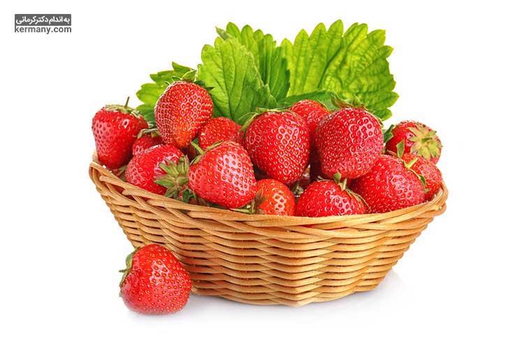 مصرف خوراکی های دارای آنتی اکسیدان مانند انواع توت، میتواند از ریزش مو جلوگیری کند.
