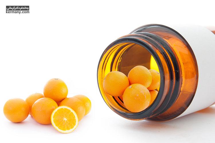 یکی از روشهای مصرف ویتامین سی، مصرف مکمل ها و قرص های حاوی این ویتامین است.