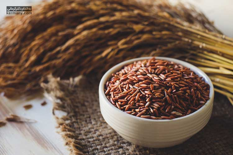 برنج قهوه ای جزء غلات کامل به حساب میآید.