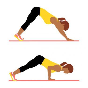 7 دقیقه ورزش بالا تنه که از نظر علمی نیز ثابت شده است برنامه ورزشی رژیم دکتر کرمانی