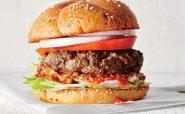 گریل برگر آمریکایی آشپزی رژیمی کاهش وزن دکتر کرمانی ساندویچ