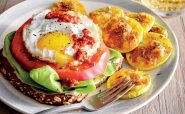 ساندویچ روباز تخم مرغ و گوجه فرنگی آشپزی رژیمی