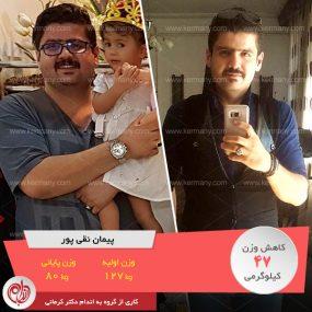 رژیم دکتر کرمانی روند زندگیم را عوض کرد