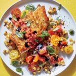 ماهی به همراه سبزیجات تابستانی آشپزی رژیمی کاهش وزن دکتر کرمانی