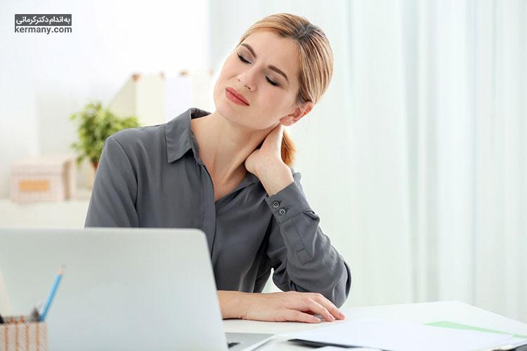 کاهش اکسیژن خون و گرفتگی رگهای گردن می تواند یکی از نشانه های بیماری قلبی باشد.