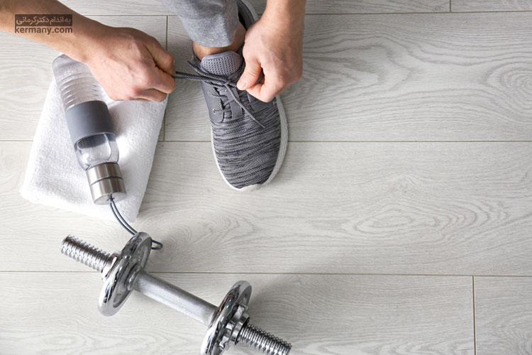 یکی از اصول لاغری سالم، انجام تمرینات ورزشی در دوران رژیم است.