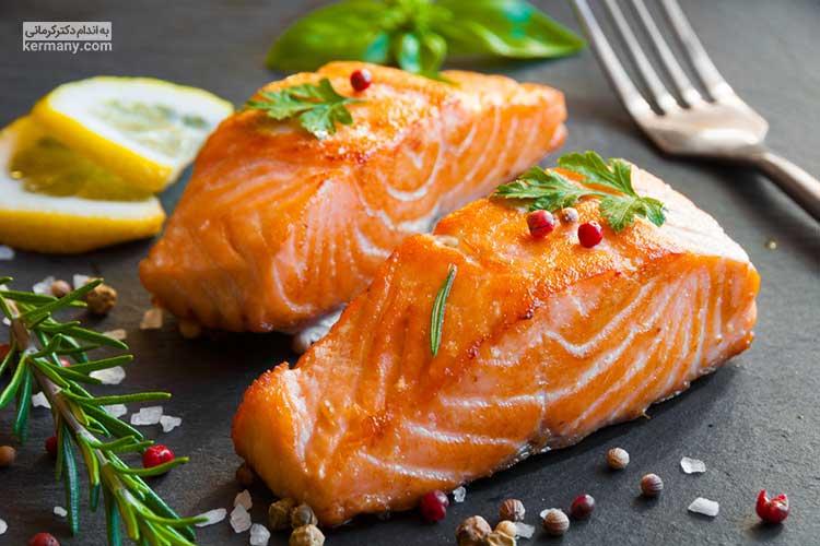 سالمون دارای مقادیر فراوانی از پروتئین و امگا 3 است و می تواند به عنوان یک وعده مناسب در رژیم غذایی عضله سازی شما قرار گیرد.