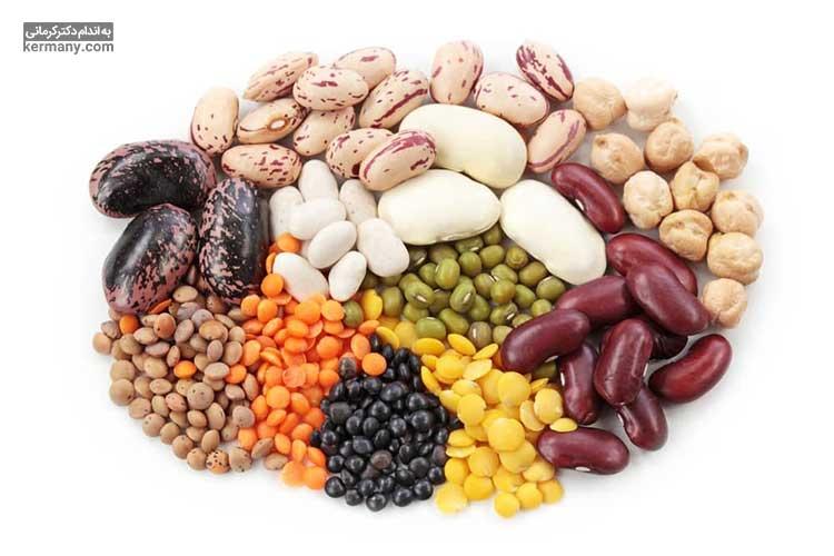 لوبیا دارای پروتئین است و یک غذای مناسب برای عضله سازی محسوب می شود.