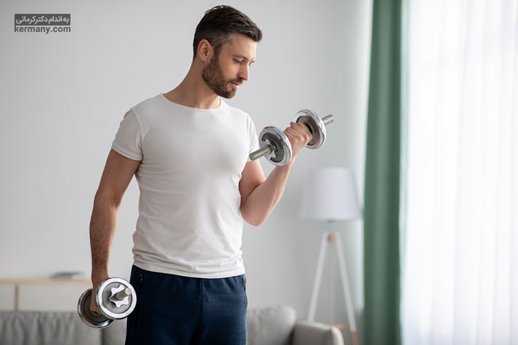 انجام ورزش قدرتی موجب کاهش بیشتر چربی های شکم و عضله سازی سریعتر و بهتر می شود.