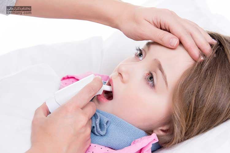 می توانید برای کاهش موقت التهاب گلو، از اسپری هایی که نیاز به نسخه پزشک ندارند استفاده کنید.