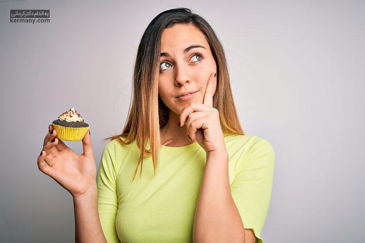 در صورتی که اشتهای شما در اثر استرس افزایش یافت، قبل از غذا خوردن خوب فکر کنید که آیا این میل به غذا در اثر گرسنگی است و یا اثرات روانی استرس باعث اشتهای شما شده است.