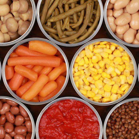 غذاهای کنسروی احساس گرسنگی را تشدید می کنند