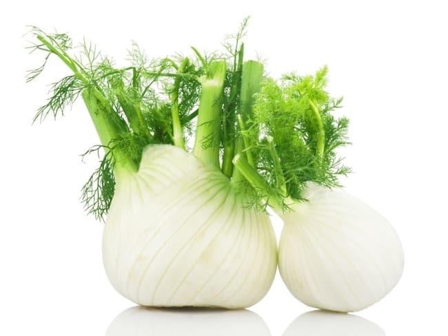 رازیانه و سبزیجات