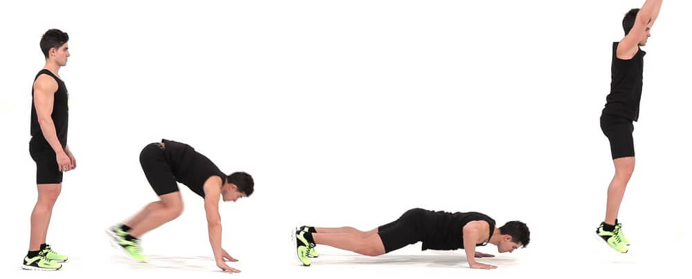 بورپی -روتین ورزشی که می تواند تمام قسمت های بدن را شکل بدهد - رژیم لاغری - کاهش وزن
