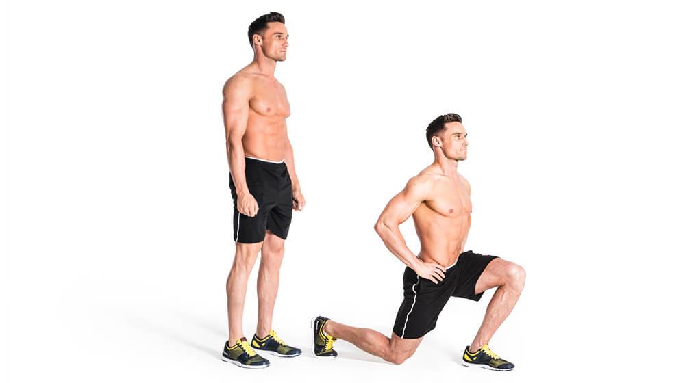لانگز -روتین ورزشی که می تواند تمام قسمت های بدن را شکل بدهد - رژیم لاغری - کاهش وزن