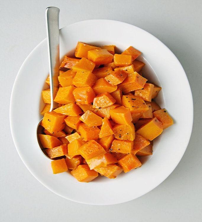 غذاهای پاییزی - کدو حلوایی