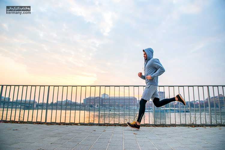 دویدن یکی از ورزش های تاثیرگذار در پیشگیری از ابتلا به چربی خون است.