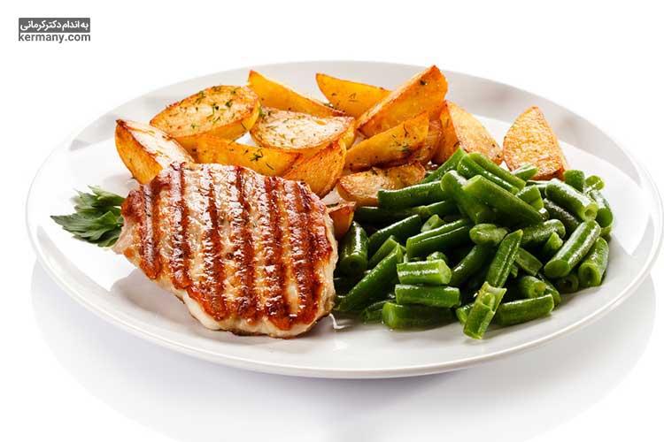 مصرف غذاهایی که سهم سبزیجات آن ها بیشتر و چربی مضر آنها کمتر است، میتواند از ابتلا به چربی خون جلوگیری کند.