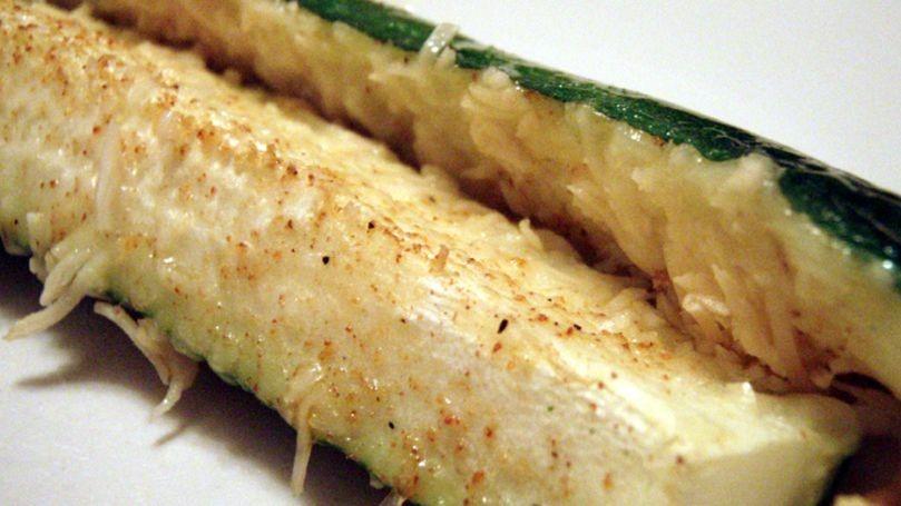 دستور پخت کدو سبز به همراه پارمسان