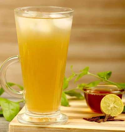 دمنوش لیموناد چای سبز