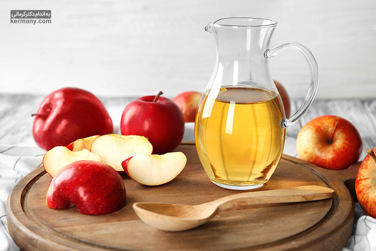 سرکه سیب به علت دارا بودن مواد اسیدی یک گزینه مناسب برای چربی سوزی و لاغری است.