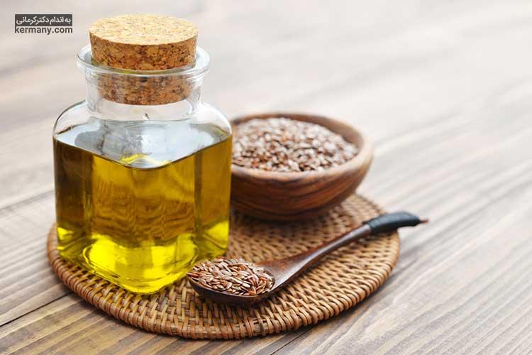 برای حفظ خواص روغن بذر کتان لازم است از حرارت پایین در پخت و پز استفاده کنید.