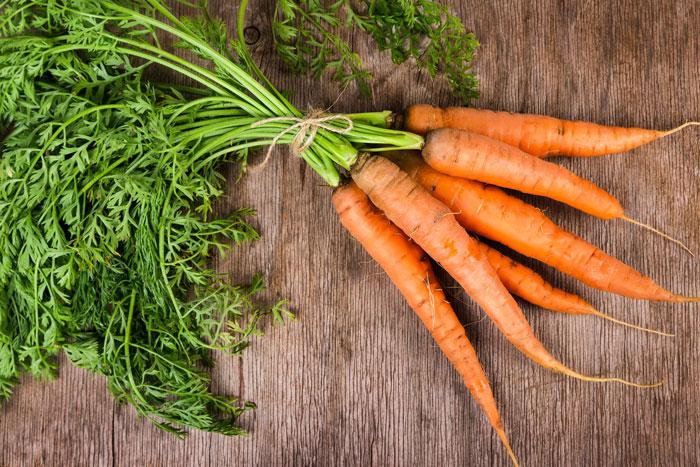 غذای کالری منفی - هویج