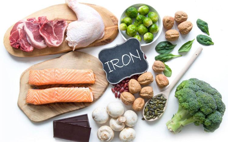 تغذیه دوران بارداری - آهن