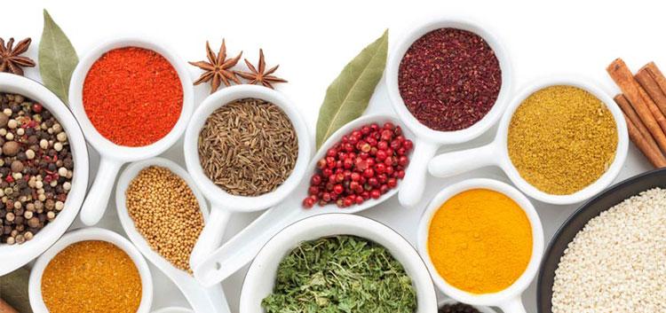 غذای کالری منفی - گیاهان و ادویه جات