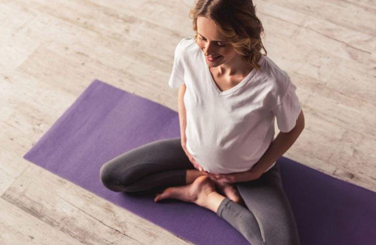 تغذیه دوران بارداری - ورزش