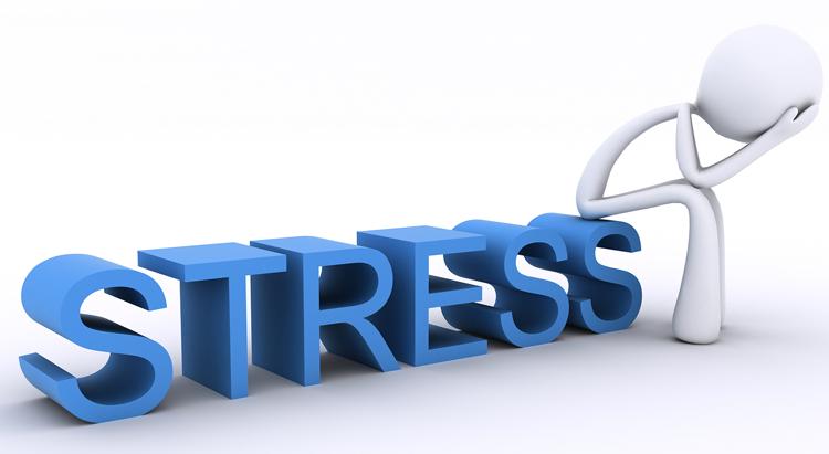 کاهش وزن ناگهانی - استرس