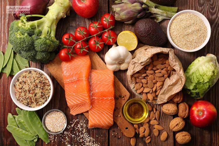منابع غذایی
