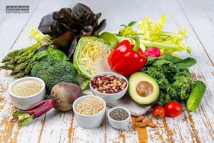رژیم آلکالاین بر پایه جایگزینی غذاهای اسیدی با غذاهای قلیایی بنا شده و مدعی لاغری در کنار بهبود بیماری هایی مانند سرطان است.
