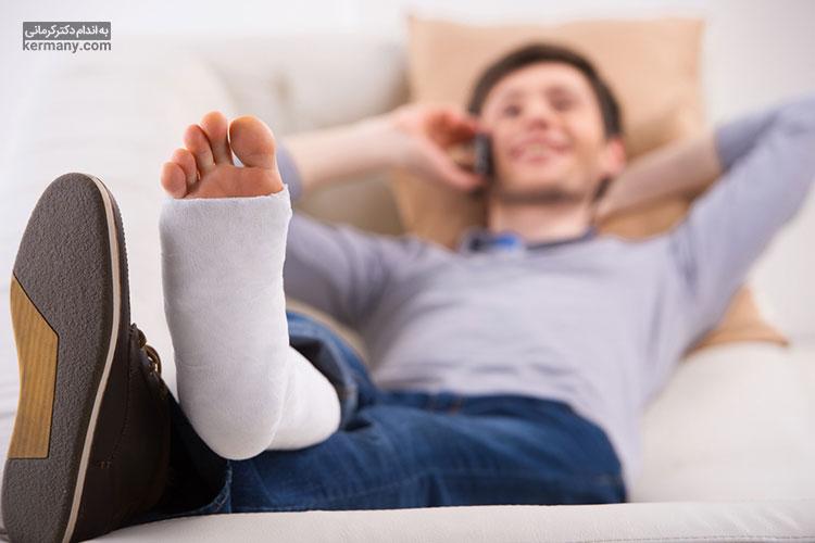 شکستگی استخوان در اثر عدم مصرف شیر