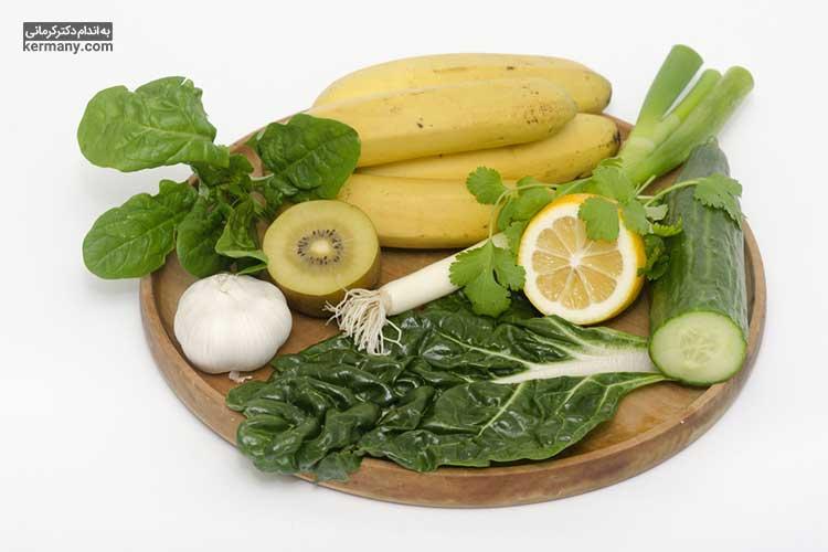 میوه ها و سبزیجات از جمله خوراکی های مجاز در رژیم غذایی آلکالاین هستند.