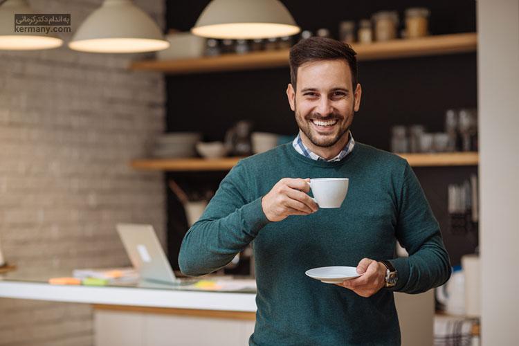 کاهش وزن سریع - نوشیدن چای