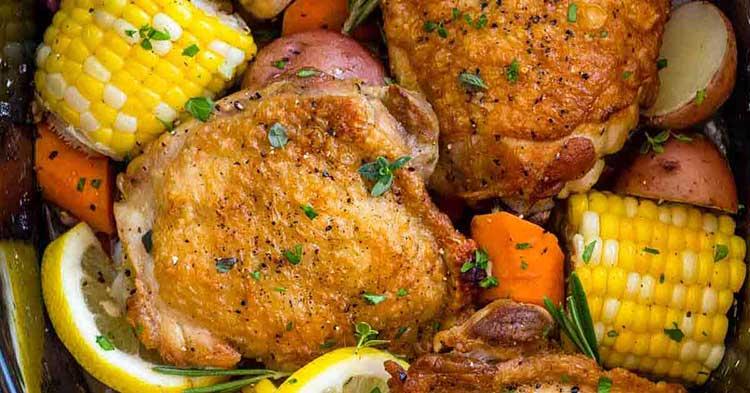 لاغری با مرغ