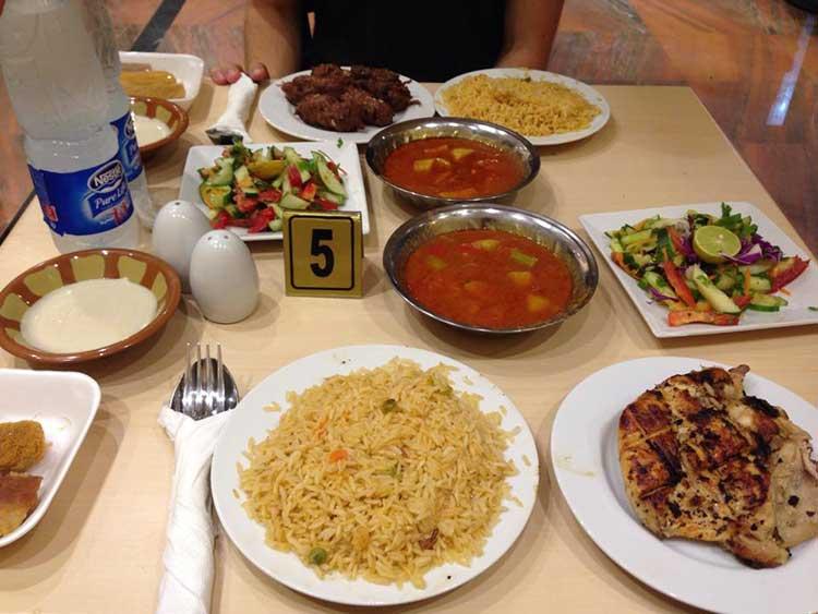 جلوگیری از چاقی در ماه رمضان - میهمانی