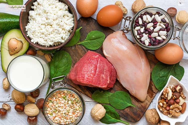 رژیم چاقی - غذاهای پر کالری