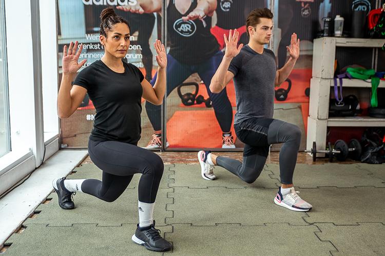 لاغری با ورزش- حرکات قدرتی