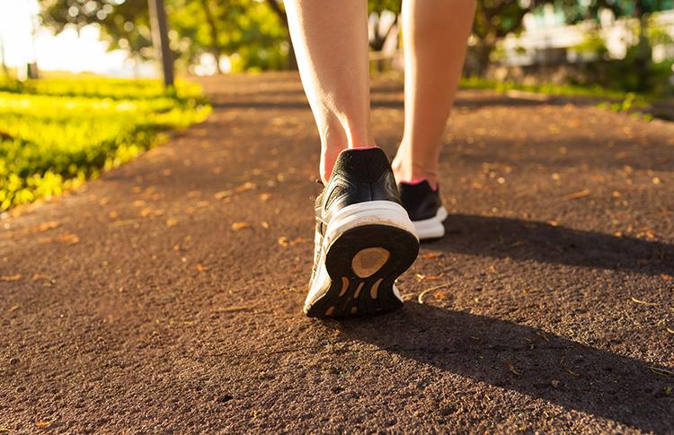 لاغری با ورزش- پیاده روی