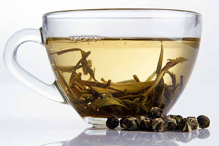 چای سفید و لاغری - دم کردن