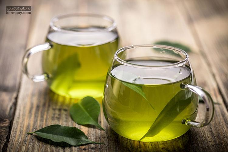 چای سبز دارای ترکیباتی است که می تواند به بهبود سرعت سوخت و ساز بدن کمک زیادی کنند.