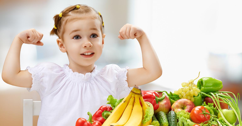 افزایش وزن کودک - غذای سالم